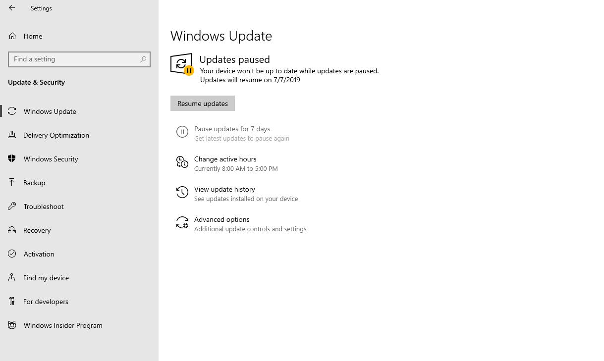 Come disabilitare gli aggiornamenti automatici di Windows 10