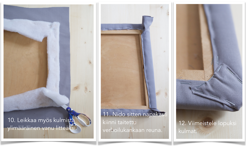 Ruokapöydäntuolien verhoilu DIY. Tuolin verhoilu / ohje / istuinosan verhoilu / pehmuste / kulmat.