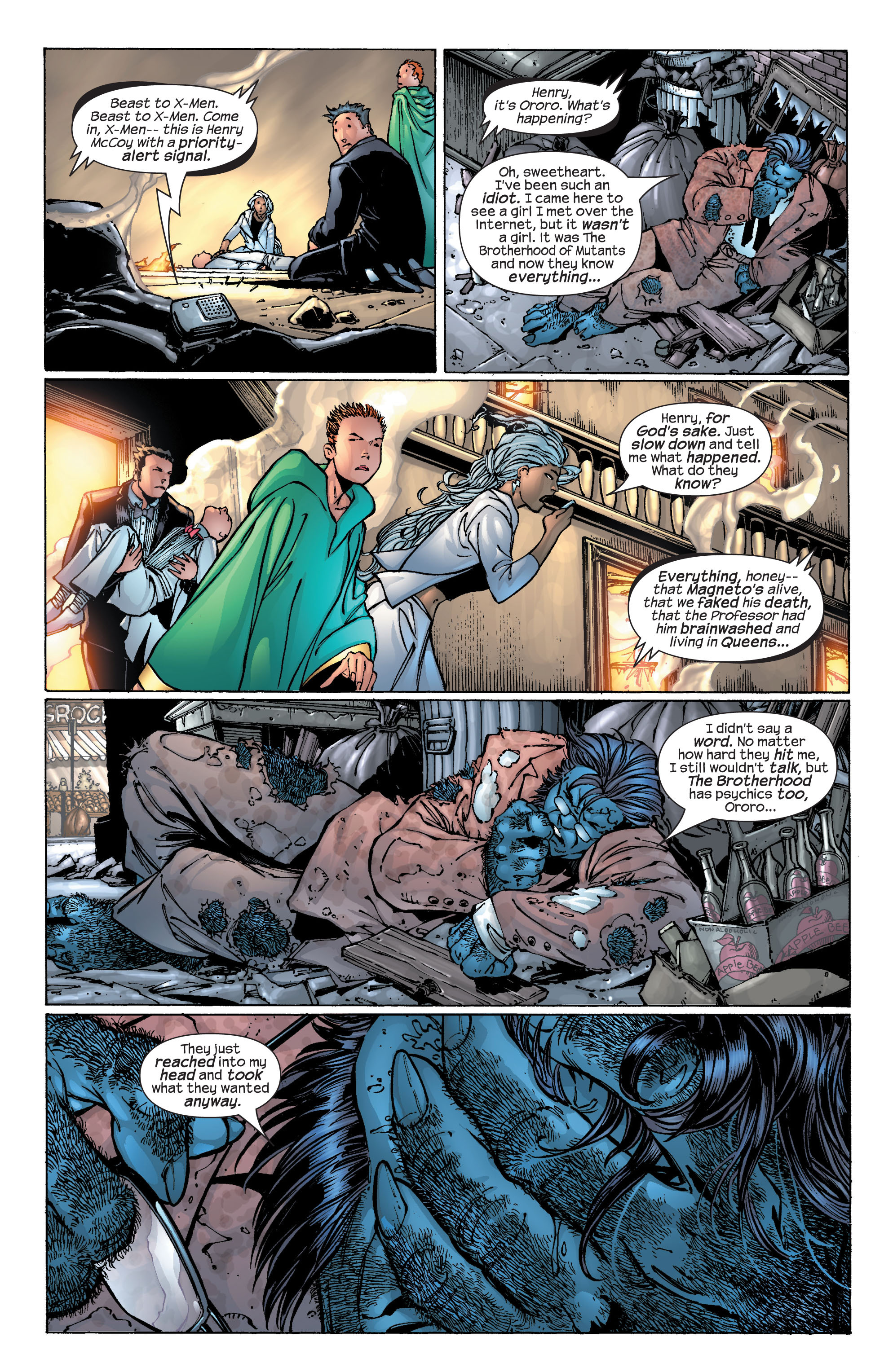 Read online Ultimate X-Men comic -  Issue #25 - 23