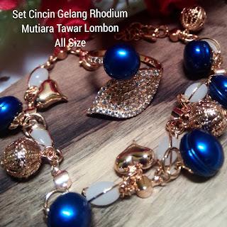 Katalog Harga Set Perhiasan Mutiara Lombok