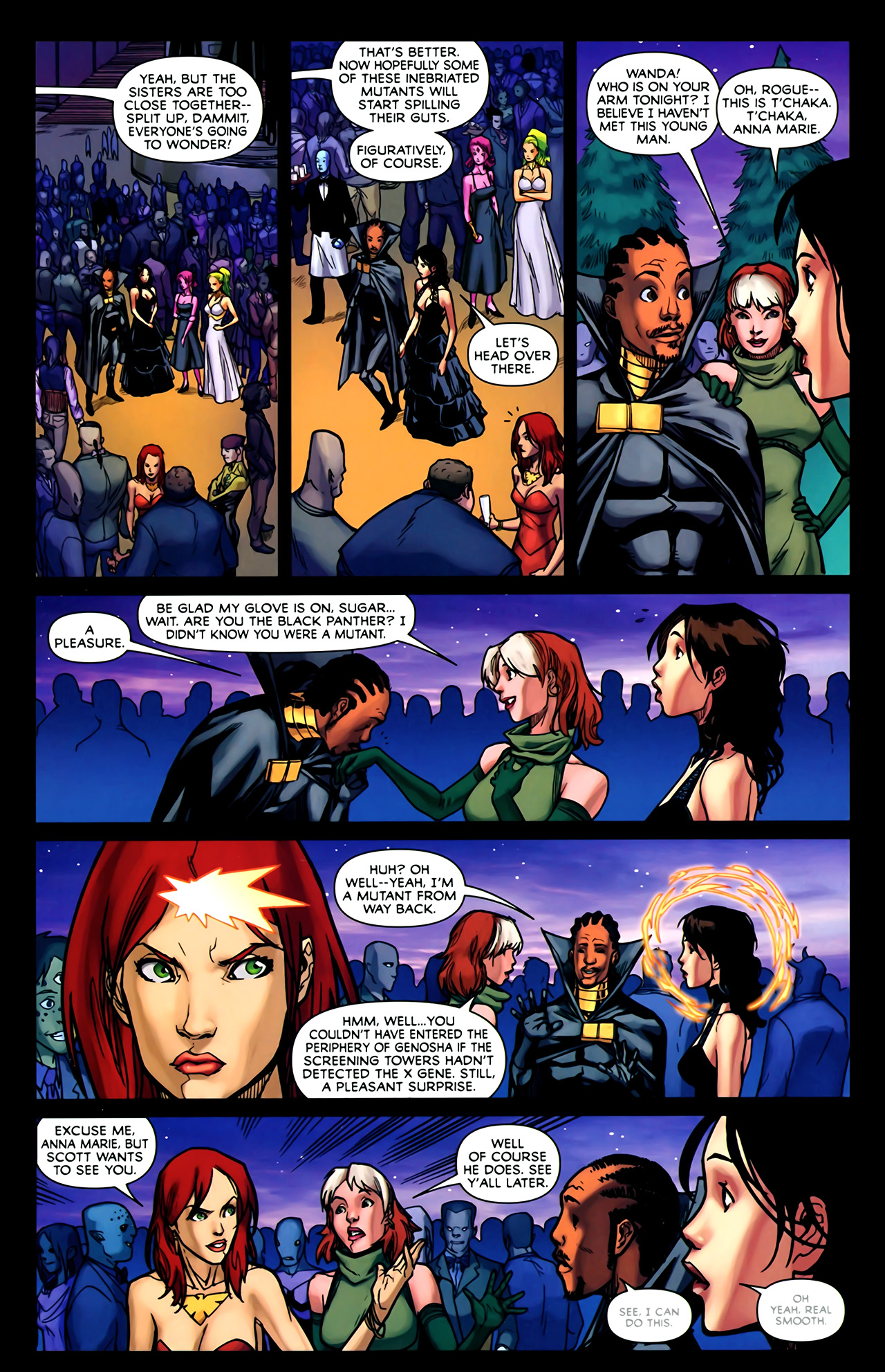 Read online Exiles (2009) comic -  Issue #2 - 18