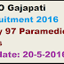 CDMO Gajapati Recruitment 2016 Apply 97 Paramedical Posts