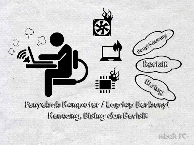 Penyebab Komputer atau laptop mengeluarkan bunyi kencang, bising dan berisik