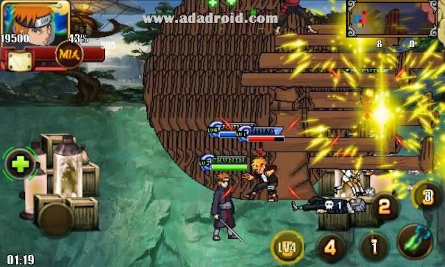 Versi terbaru dari game Naruto Senki Mod  Naruto Senki Heroes v3 (Boruto Coming) 2019 Mod Apk