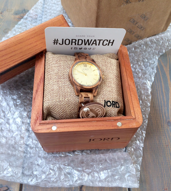 JORD Wood Watches with Harlow and Thistle