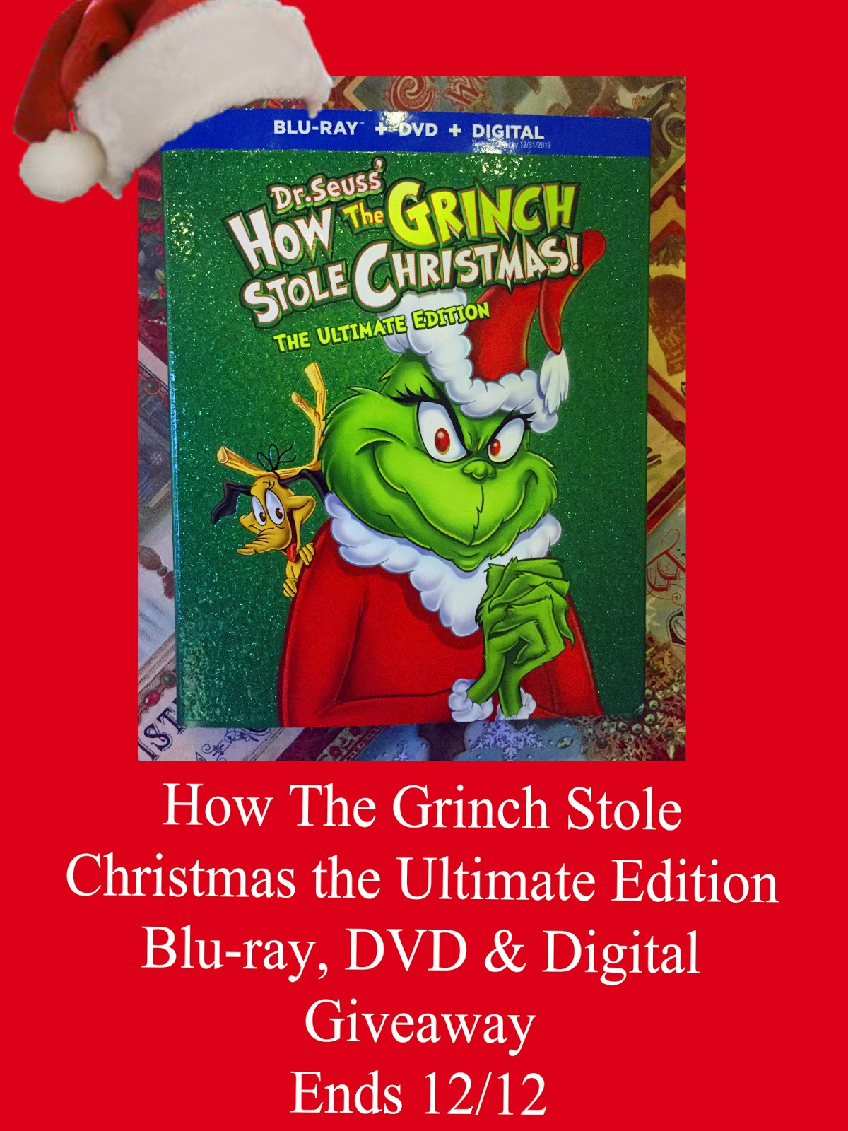 How The Grinch Stole Christmas 1966 Dvd.Maria S Space Dr Seuss How The Grinch Stole Christmas The