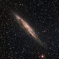 Spiral Galaxy NGC 4945