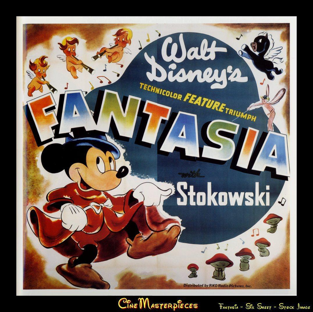 The Feature Films of Walt Disney: Fantasia
