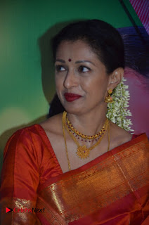 Gauthami Pictures in Saree at Namadhu Movie Press Meet ~ Celebs Next