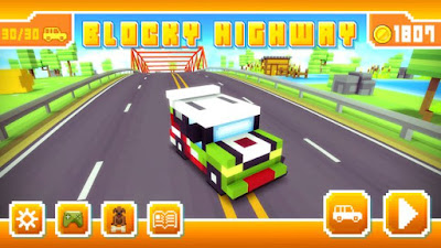 Blocky Highway Traffic Racing APK