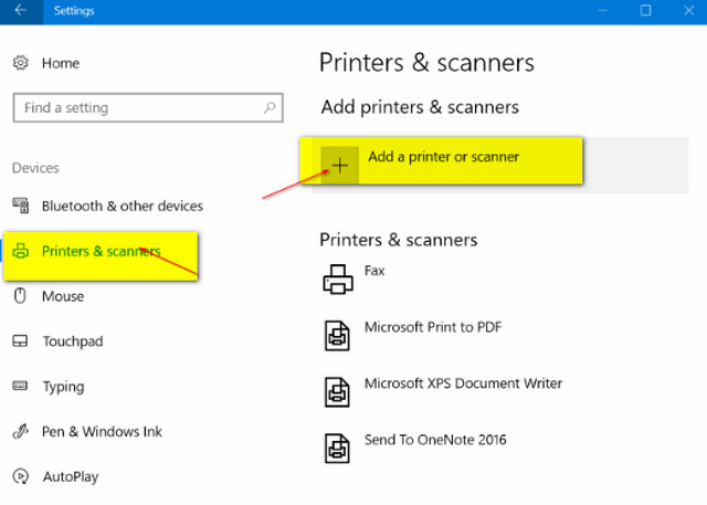 كيفية إضافة طابعة لاسلكية إلى ويندوز 10 Wireless Printer