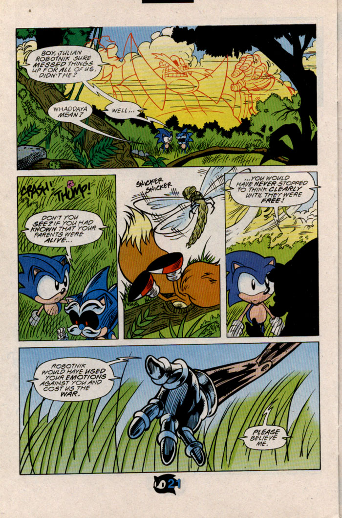 Read online Sonic The Hedgehog comic -  Issue #54 - 24