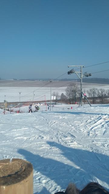 wyciąg narciarki Machnice okolice Wrocławia