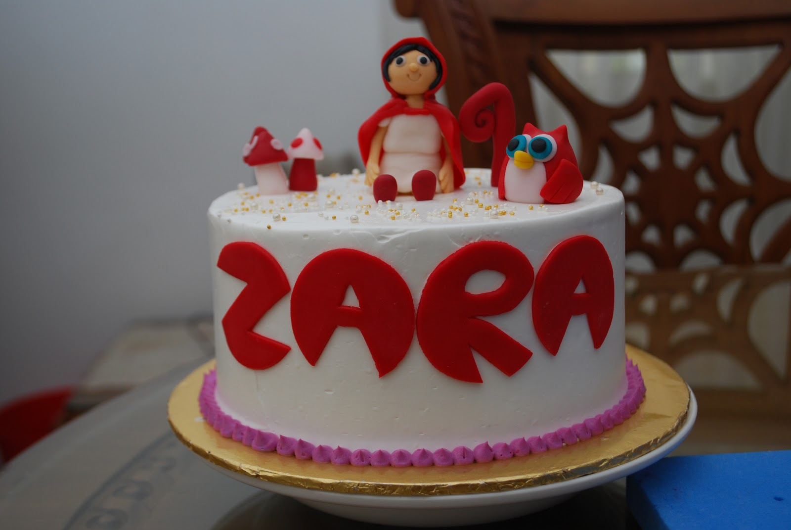 Happy Birthday Cake Zara