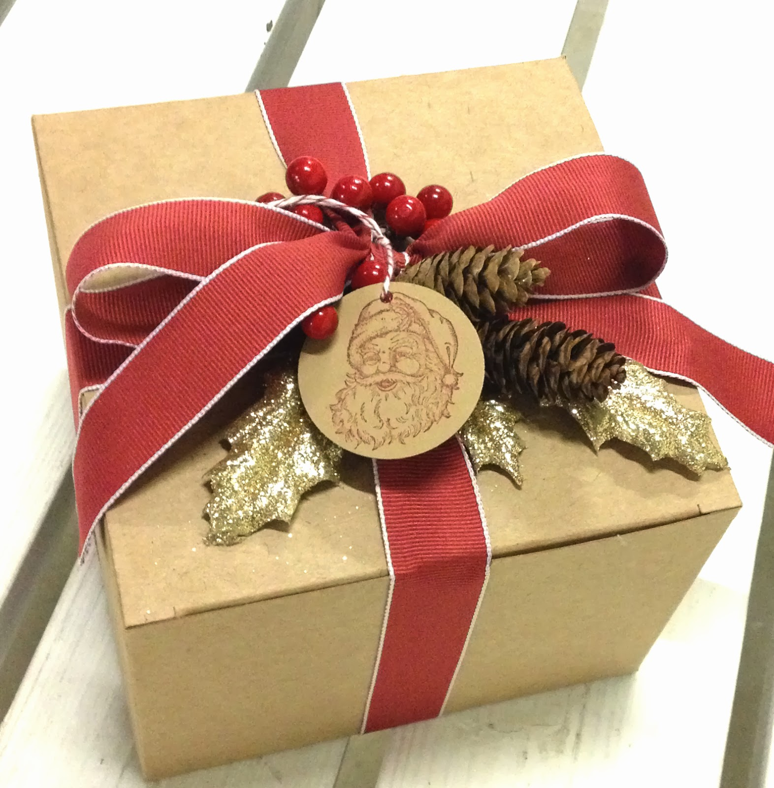 Gift Box Christmas Decorations: Create With Bev: Oct 2013