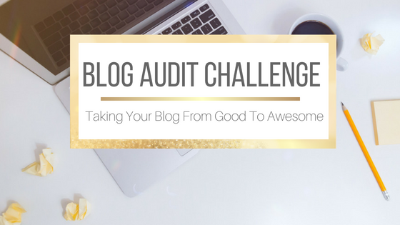 Blog Audit Challenge