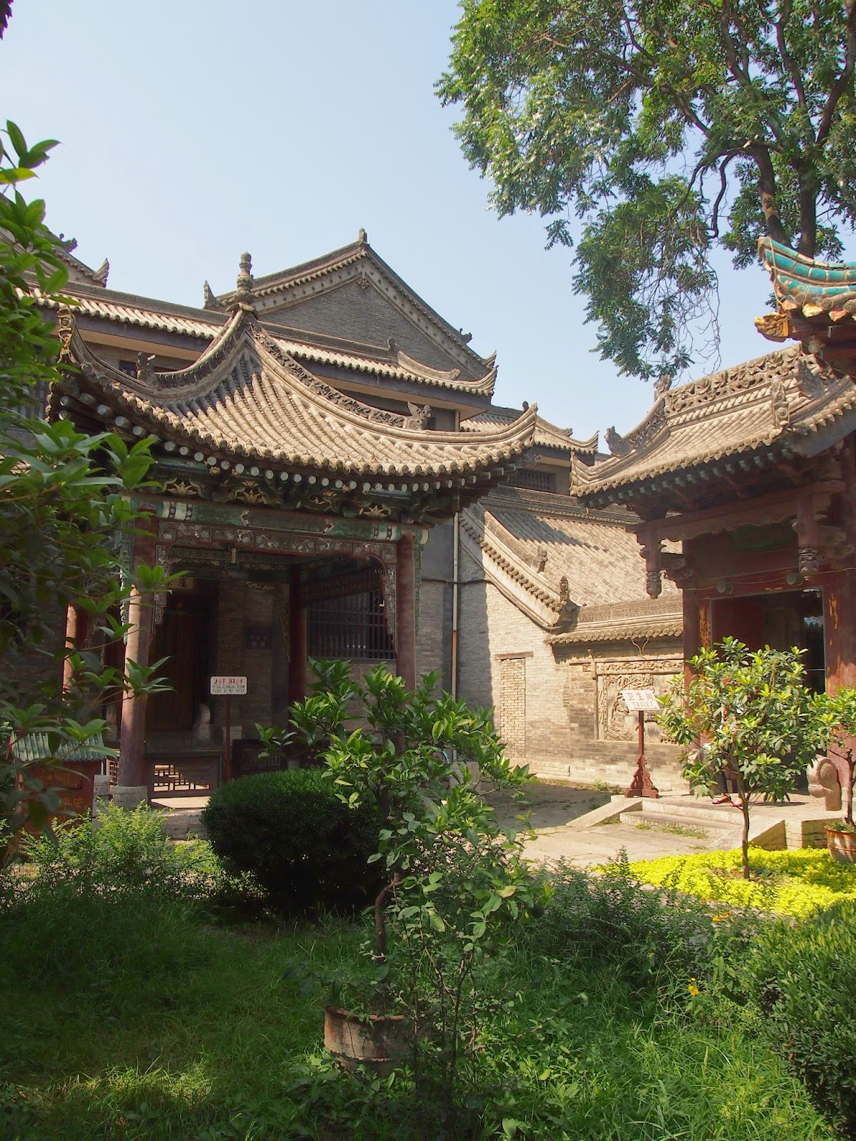 Gardens in Xi'an, China