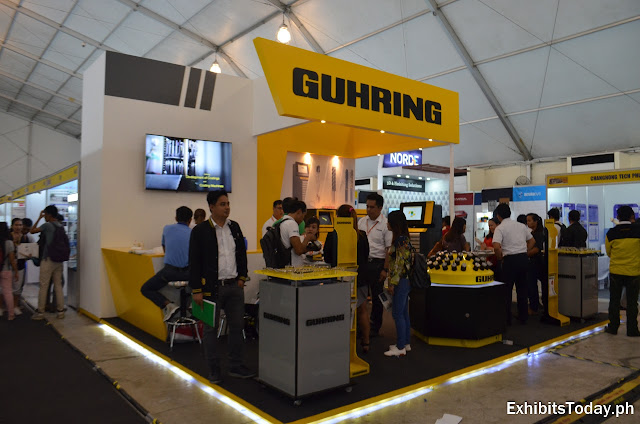 Guhring Exhibit Booth