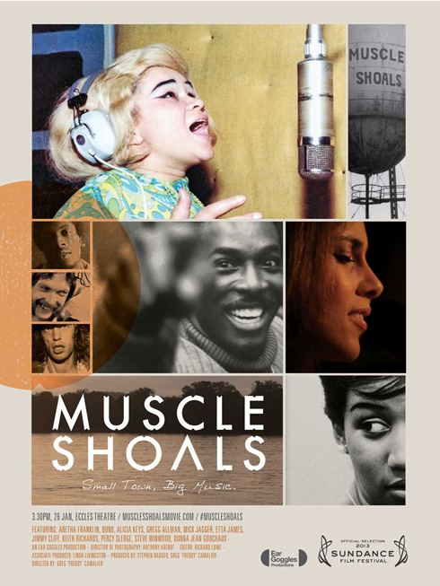 Muscle Shoals Documentary Poster