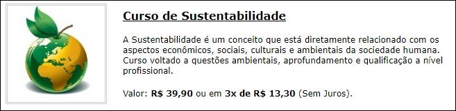 Sustentabilidade - Brava Cursos