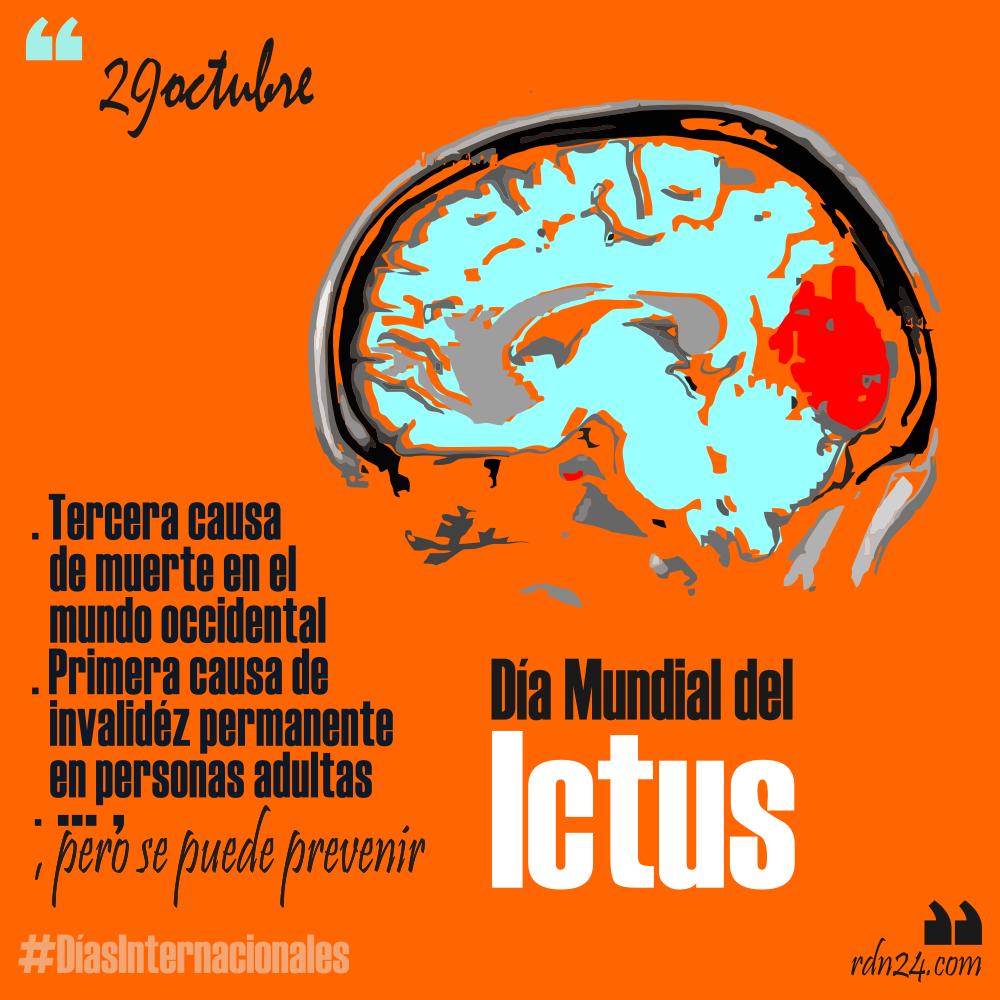 29 de octubre: Día mundial del Ictus #DíasInternacionales