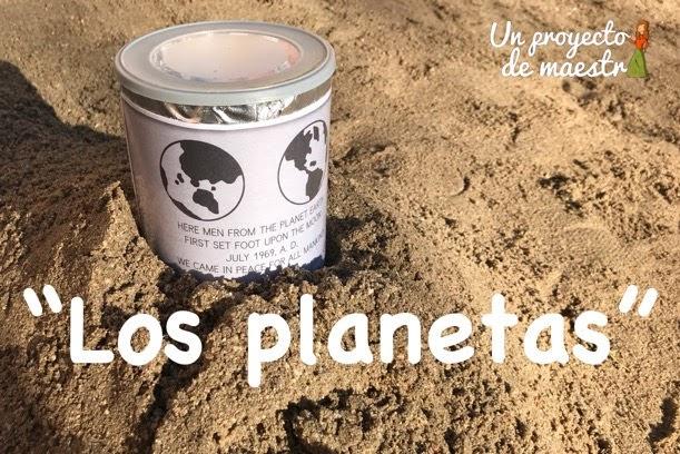 Propuestas sobre el proyecto de los planetas en Educación Infantil 4 años