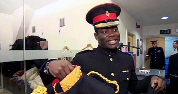 Ghanaian named first black equerry by Queen Elizabeth