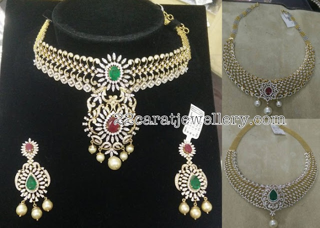 8 to 9 Lakhs Diamond Sets