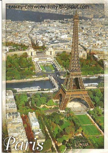 Postcrossing: Paryż