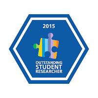 Outstanding Student Researcher Badge 2015