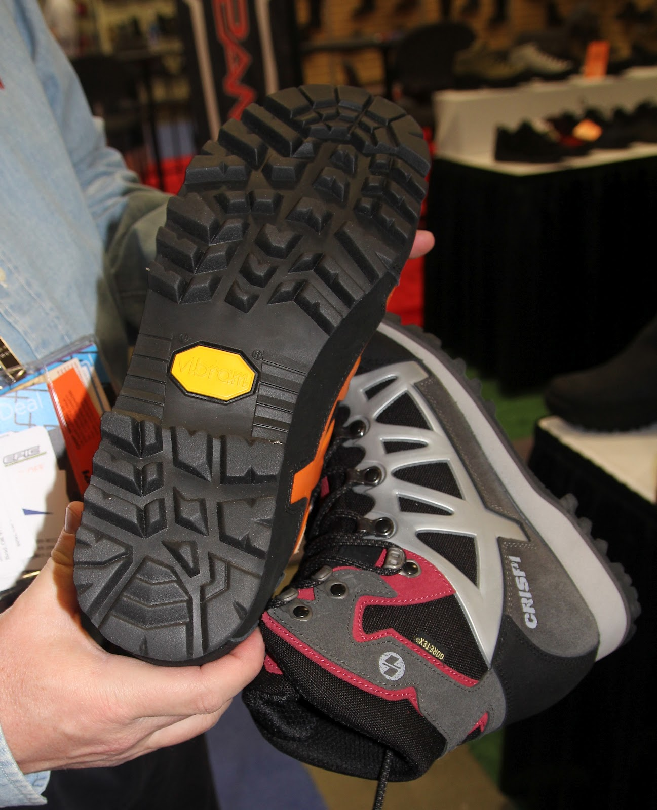 best sneakers 9027a c818d Vibram soles-Super Grip for super traction, high wear resistance, and  double density shock absorption