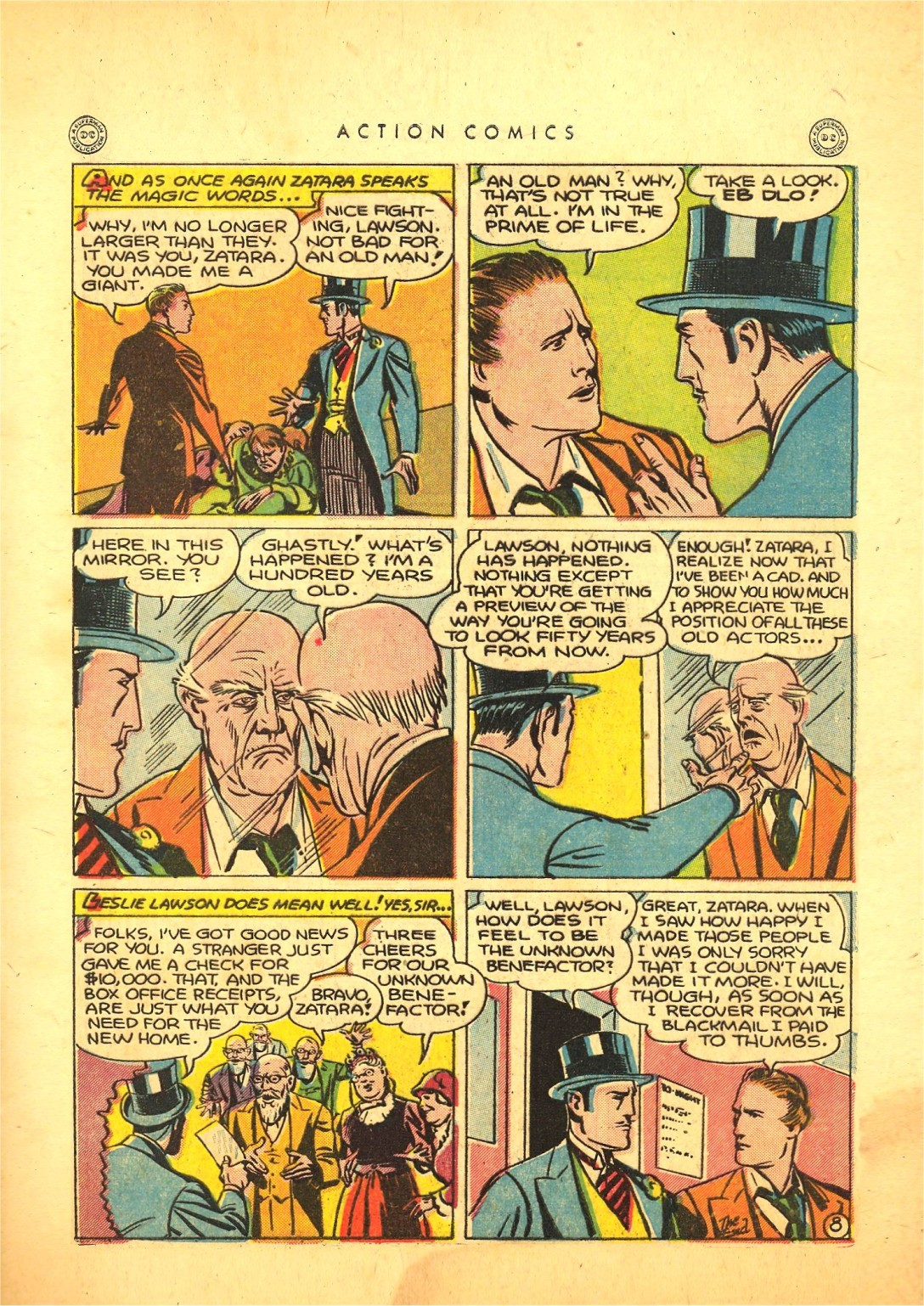 Read online Action Comics (1938) comic -  Issue #87 - 48