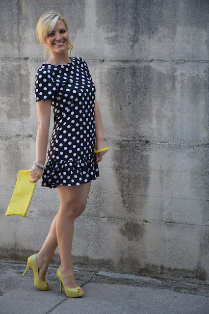 outfit polka dots how to wear polka dots how to combine polka dots mariafelicia magno summer outfits blogger summer outfits september outfits fashion bloggers italy italian fashion bloggers italian web influencer