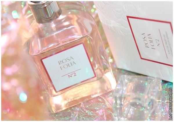 Rosa Folia N°2, le parfum à la rose du Dr Pierre Ricaud - Avis Blog beauté