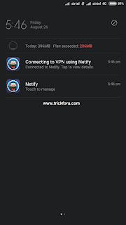 airtel netify vpn handler trick