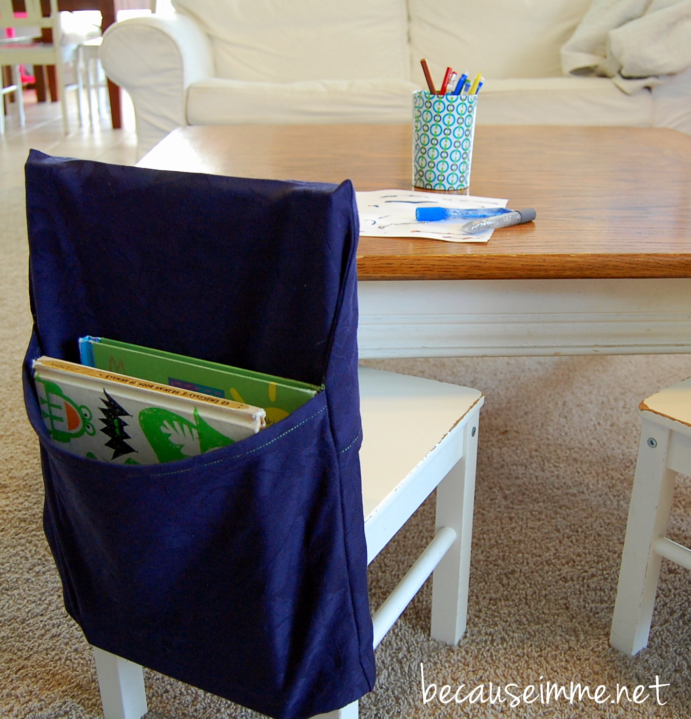 classroom chair covers with pocket fisher price because i 39m me