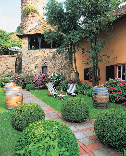 Garten des Schlossgutes Diel