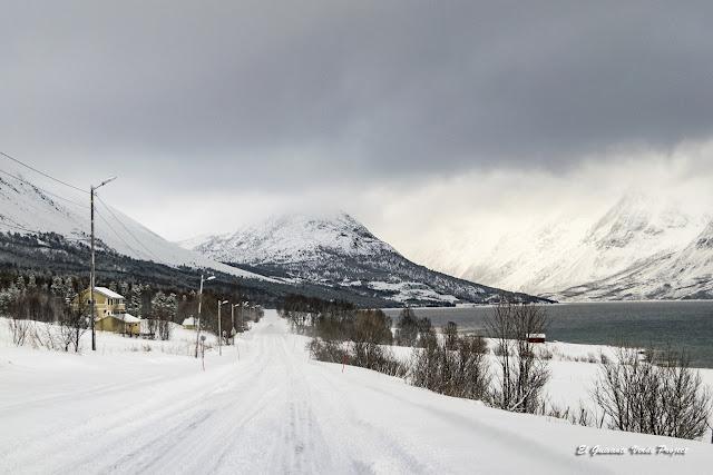 Carretera hacia los Lyngen Alps - Tromso por El Guisante Verde Project