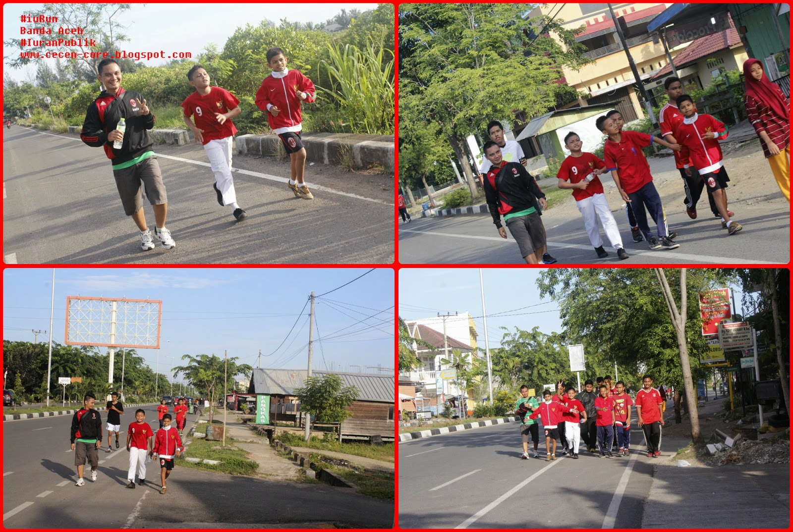#iuRun Indo Runners Banda Aceh untuk #IuranPublik