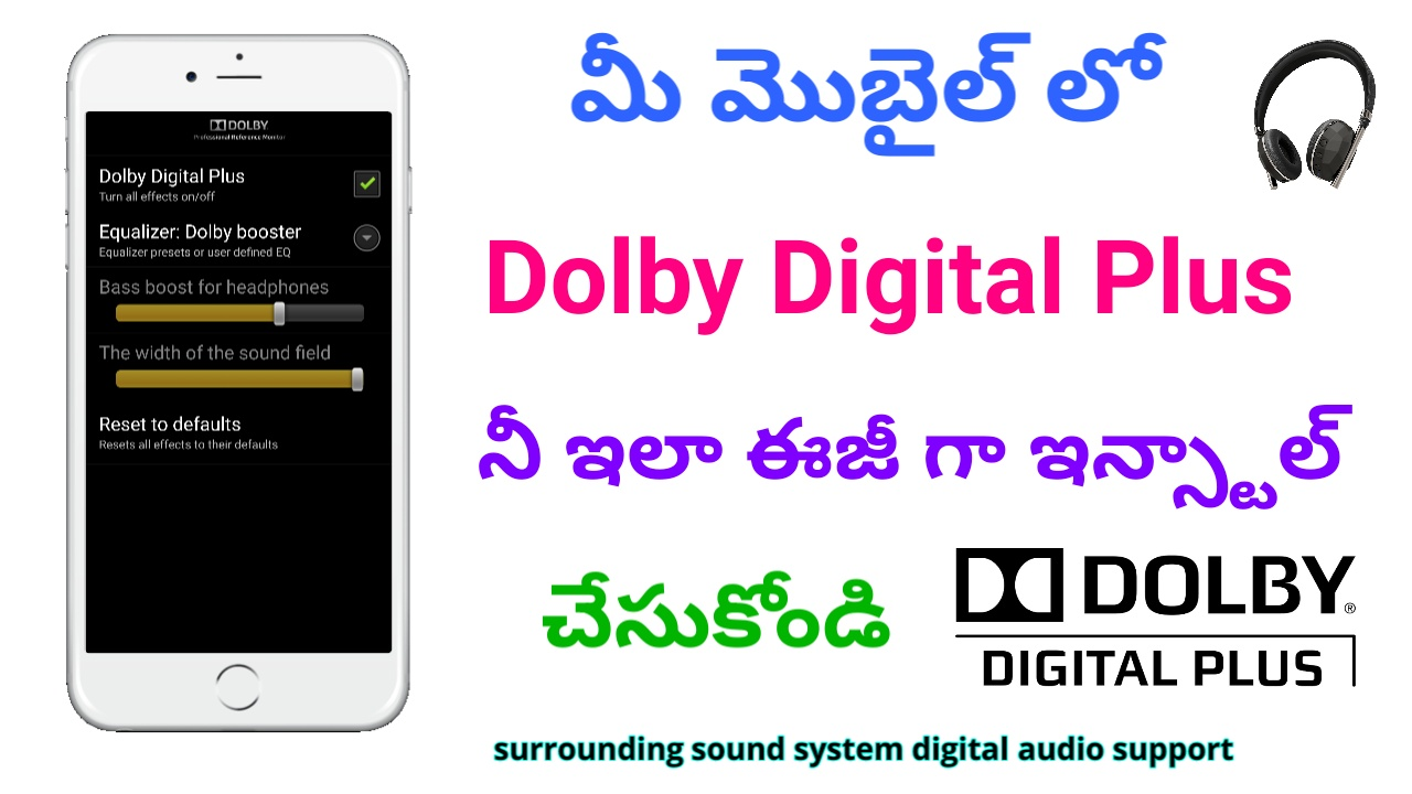 Dolby apk download | Dolby Atmos DAX2 3 1 30_r1 Download APK for