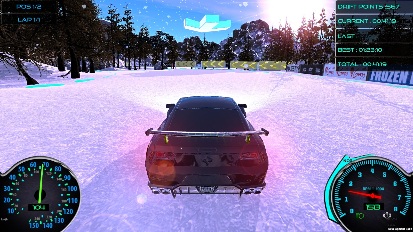 Frozen Drift Race-HI2
