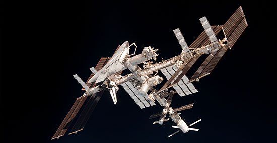 ISS - International Space Station - Estação Espacial Internacional