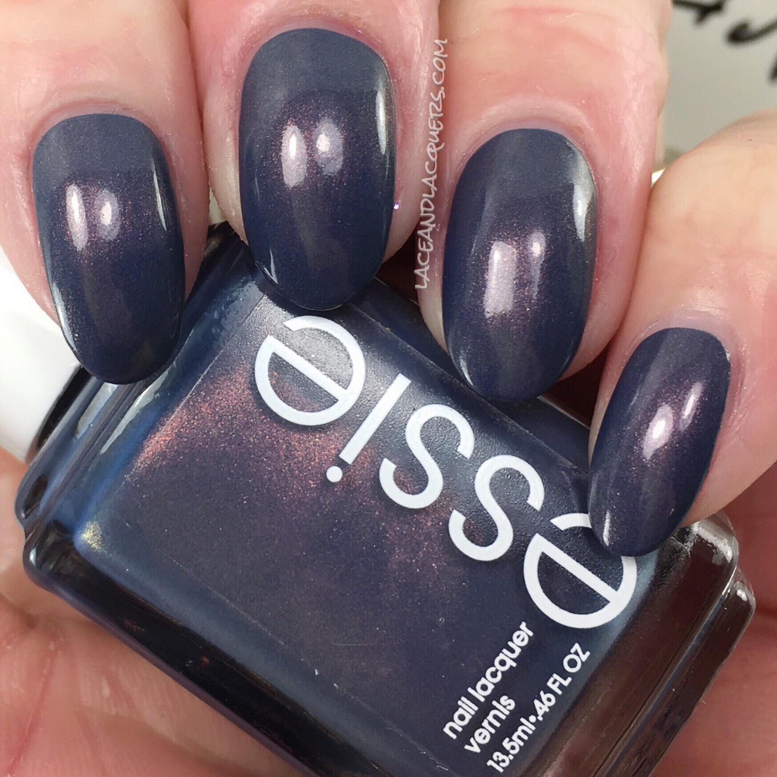 Lace and Lacquers: ESSIE: Blue-tiful Horizon