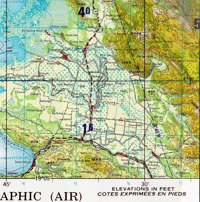 Topographic Map Of Haiti.Maps By Me Topographic Map Of Haiti