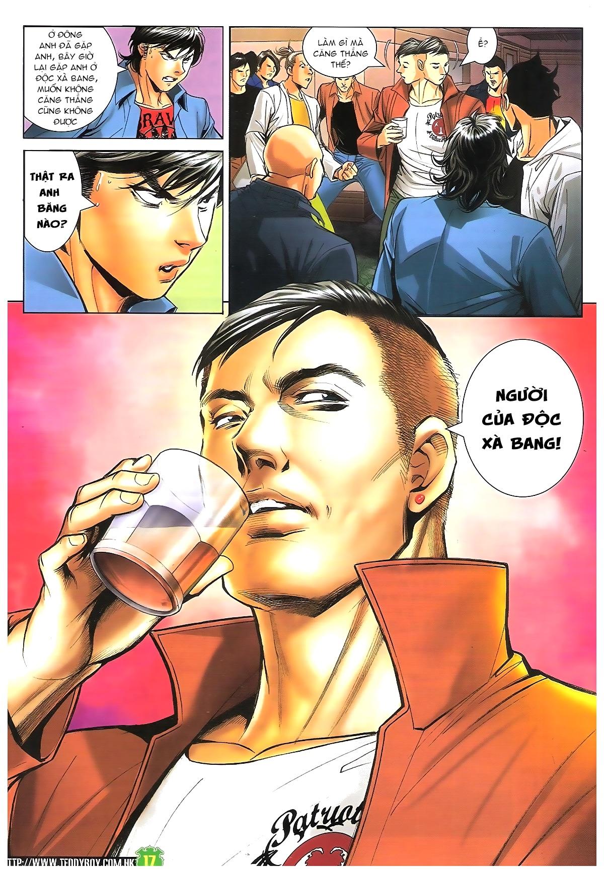 Người Trong Giang Hồ - Chapter 1610: A Khắc đến thăm - Pic 16
