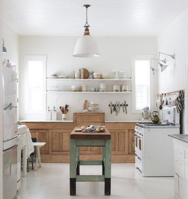 Petitecandela blog de decoraci n diy dise o y muchas - Cocina rustica blanca ...