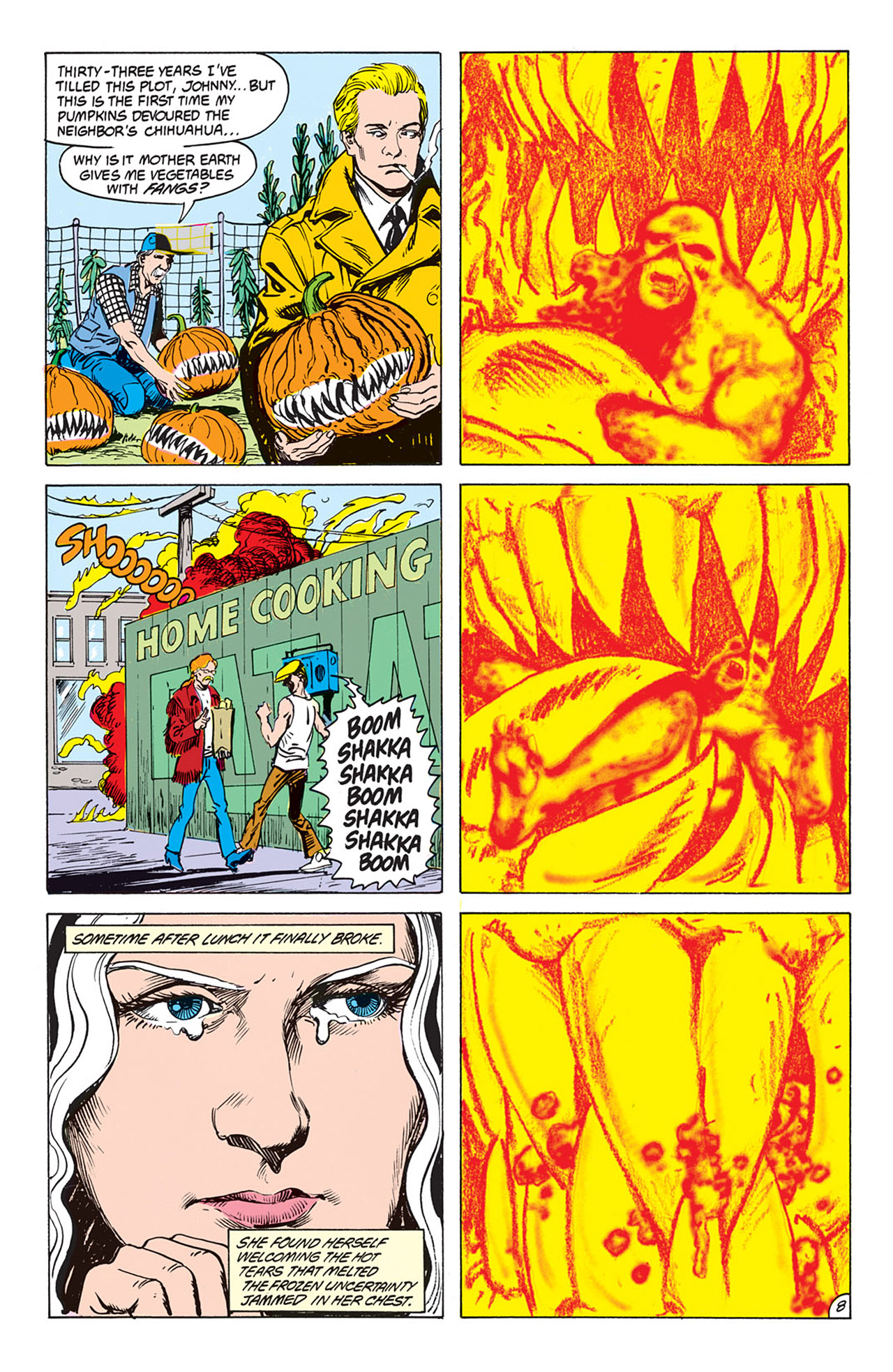 Swamp Thing (1982) Issue #73 #81 - English 9