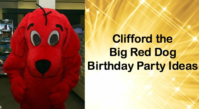 clifford the big red dog craft ideas plan my clifford the big ideas 8014