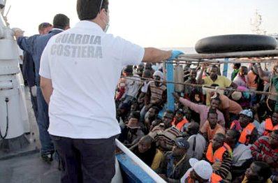 Lampedusa refugees #28