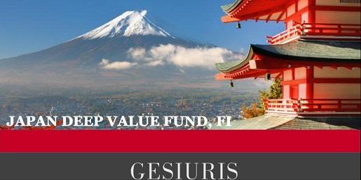 Gesiuris japan deep value fund – ES0156673008